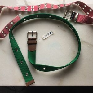 Set of two belts